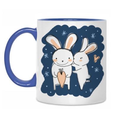 Кружка Кролики
