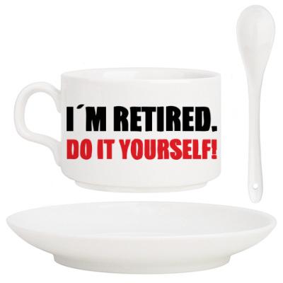 Кофейный набор I'm retired
