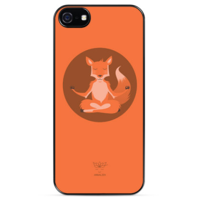 Чехол для iPhone Animal Zen: F is for Fox