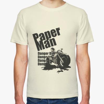 Футболка Paper man