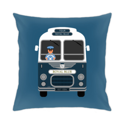 Подушка Royal Blue Coach