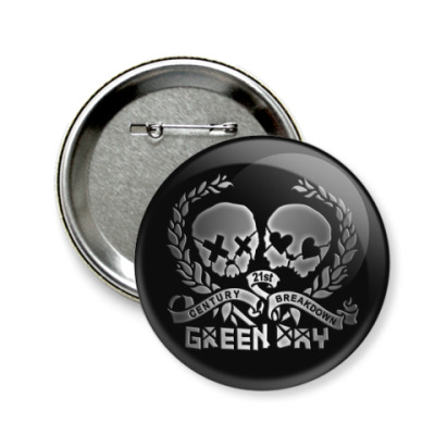 Значок 58мм Green Day