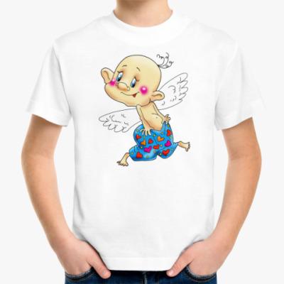 Детская футболка КУПИДОН В ТРУСАХ