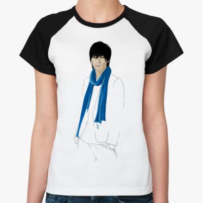 Женская футболка реглан   Рё