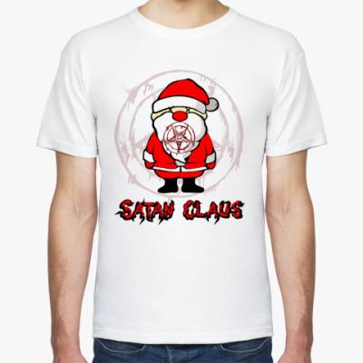 Футболка Satan Claus