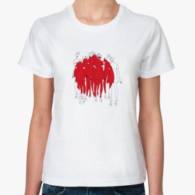 Классическая футболка i love japan