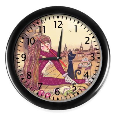 Настенные часы время помечтать