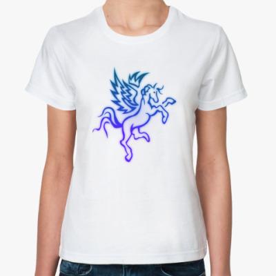 Классическая футболка 'Пегас'