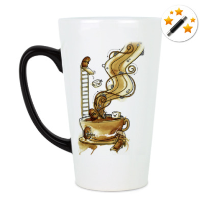 Кружка-хамелеон Кофейная тусовка