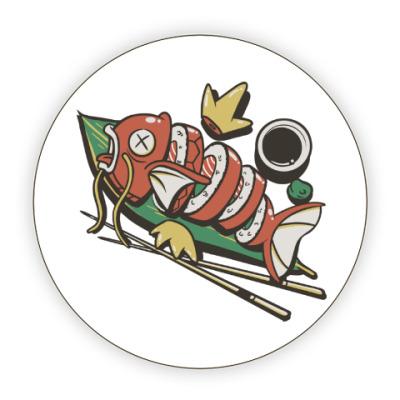 Костер (подставка под кружку) Суши