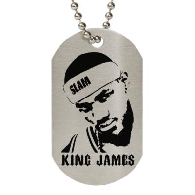 Жетон dog-tag King James