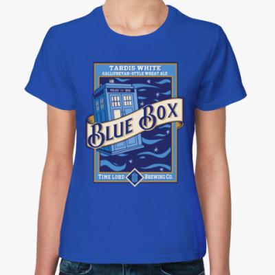 Женская футболка Blue Box