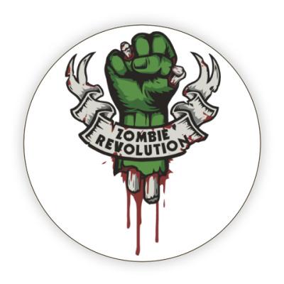 Костер (подставка под кружку) Революция Зомби