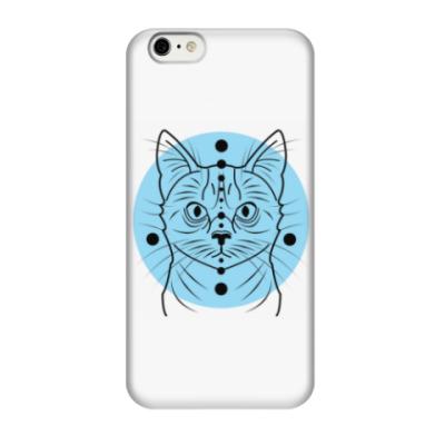Чехол для iPhone 6/6s Гипнокот