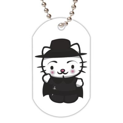 Жетон dog-tag Kitty Vendetta