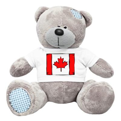 Плюшевый мишка Тедди канадец