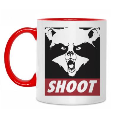 Кружка Raccoon Shoot