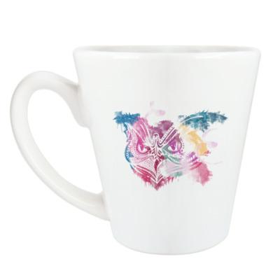 Чашка Латте Сова - Owl