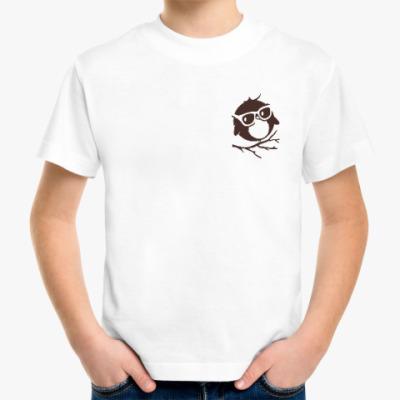 Детская футболка Совёнок