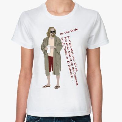 Классическая футболка Duder