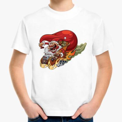Детская футболка Crazy Santa