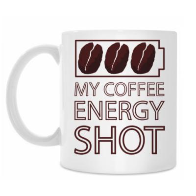 Кружка Кофе-заряд