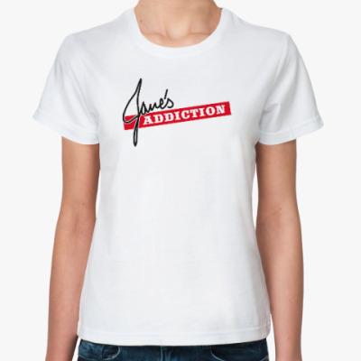 Классическая футболка Jane's Addiction