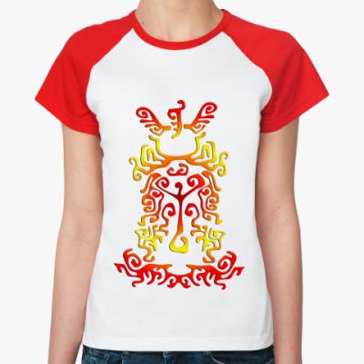 Женская футболка реглан Etno ornament