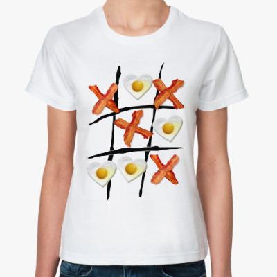 Классическая футболка Крестики нолики
