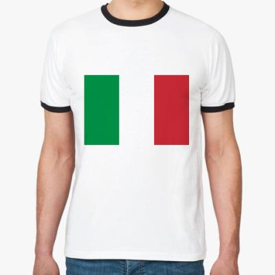 Футболка Ringer-T  Италия