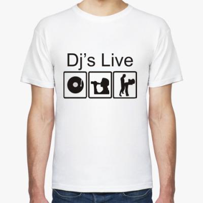 Футболка Dj's Live