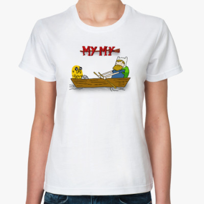 Классическая футболка Время купаться