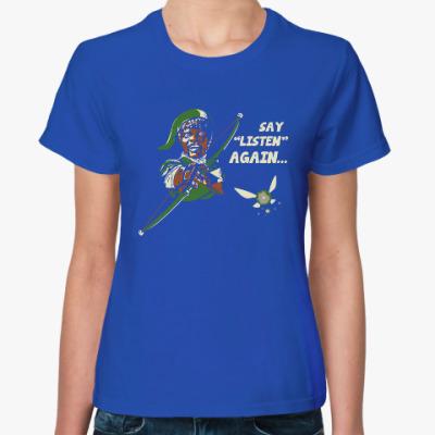 Женская футболка Криминальное чтиво - Зельда