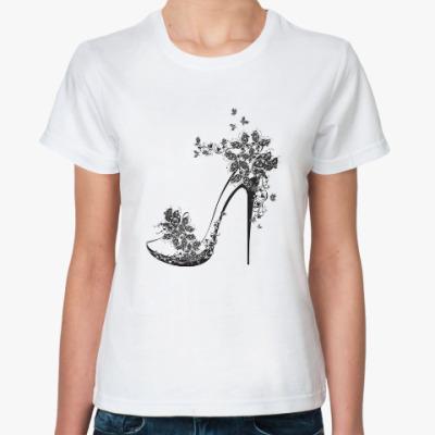Классическая футболка Туфелька
