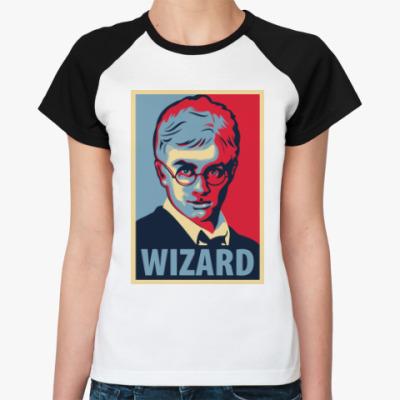 Женская футболка реглан Wizard