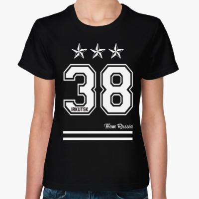 Женская футболка Иркутск