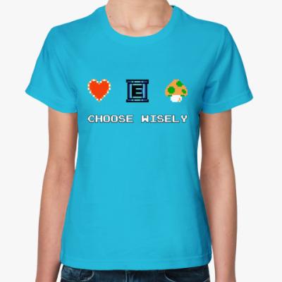 Женская футболка 8-bit
