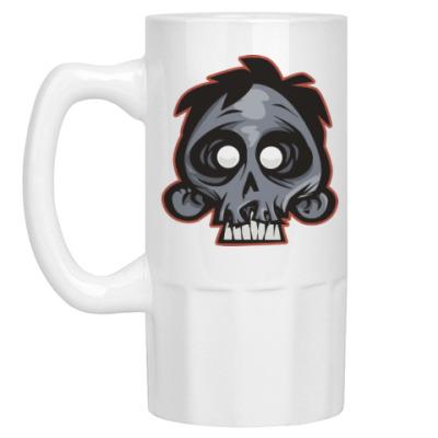 Пивная кружка Crazy Monkey