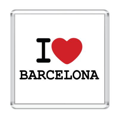 Магнит I Love Barcelona