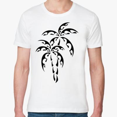 Футболка из органик-хлопка Пальмы