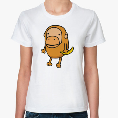 Классическая футболка 'Макака'
