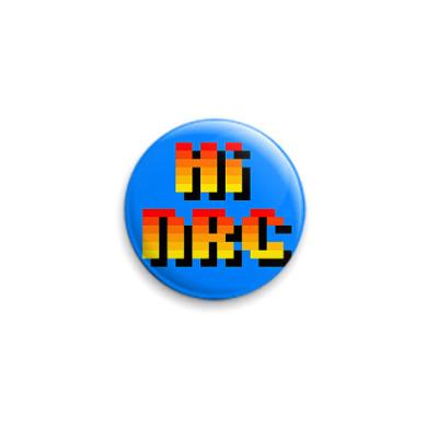 Значок 25мм  Hi-NRG