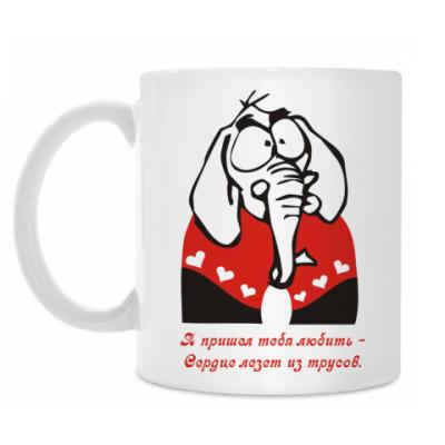 Кружка 'Слон'