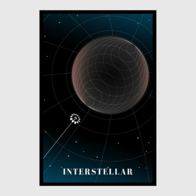 Постер Interstellar