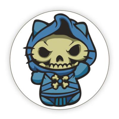 Костер (подставка под кружку) Kitty Скелетор