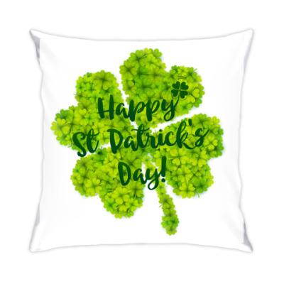 Подушка Happy St. Patrick's Day!