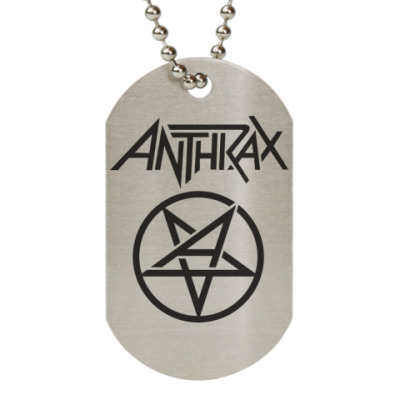 Жетон dog-tag Anthrax