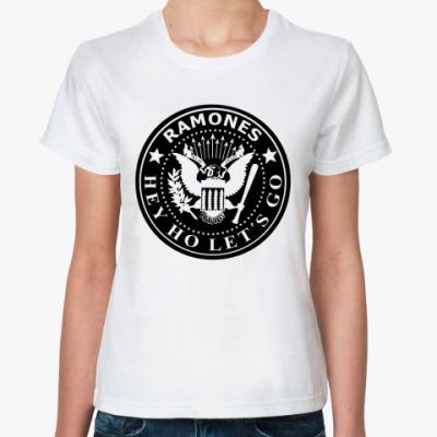 Классическая футболка Ramones