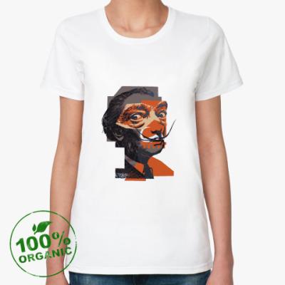 Женская футболка из органик-хлопка  Сальвадор Дали