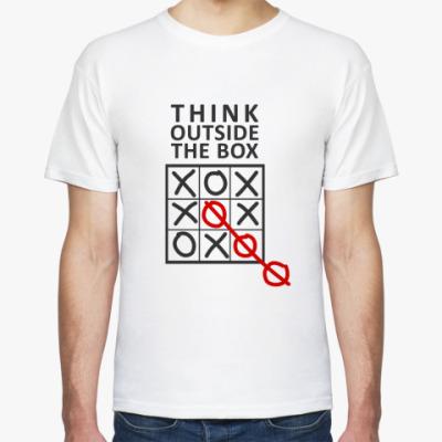 Футболка Outside the box
